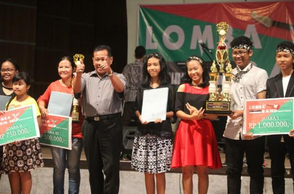 Lomba Band dan Vokal Grup SMM diserbu peserta dari Jawa Tengah
