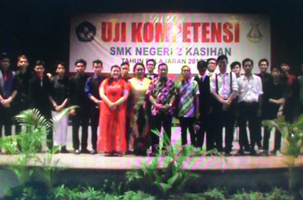 Uji Kompetensi 2017/2018 SMK Negeri 2 Kasihan dengan Asesor Oni Krisnerwinto