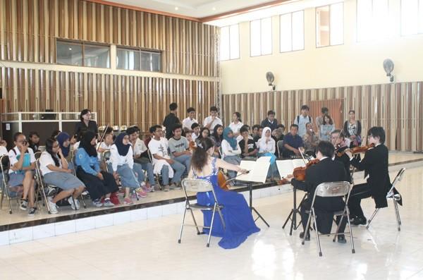 Workshop String Quartet dari Jepang