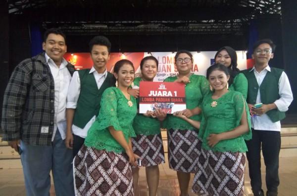 Paduan Suara SMM Juara Paduan Suara Bulan Pancasila 2018