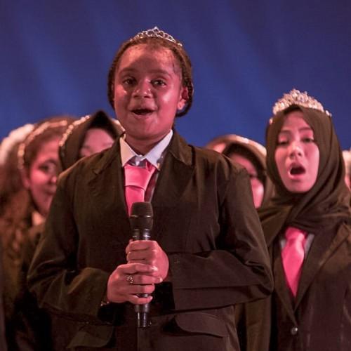 Siswa Asal Papua Menjadi Solis dalam Welcome Concert 2019
