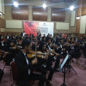SMKN 2 KASIHAN  DI BALIK REKAMAN ULANG  LAGU INDONESIA RAYA